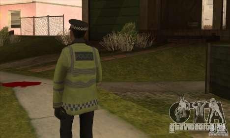 Новый Полицейский для GTA San Andreas третий скриншот