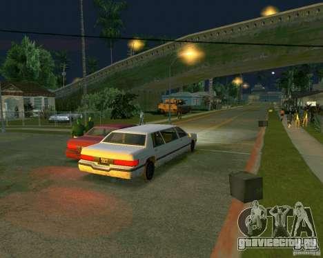 Elegant Limo для GTA San Andreas вид сзади слева