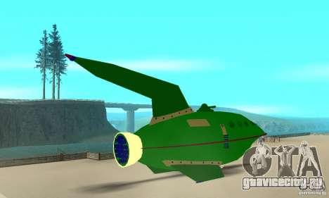 Planet Express для GTA San Andreas вид слева