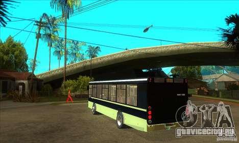 ЛиАЗ 5256 для GTA San Andreas вид сзади слева