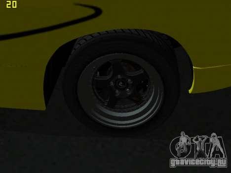 Lamborghini Diablo SV для GTA San Andreas вид изнутри