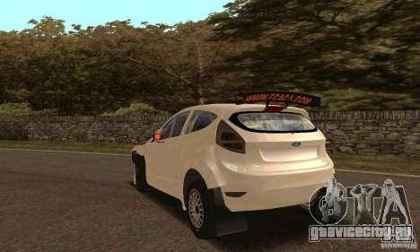 Ford Fiesta Rally для GTA San Andreas вид сбоку