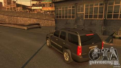 GMC Yukon 2010 для GTA 4 вид сзади слева