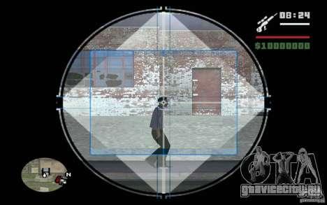 Снайпер мод v.2 для GTA San Andreas третий скриншот