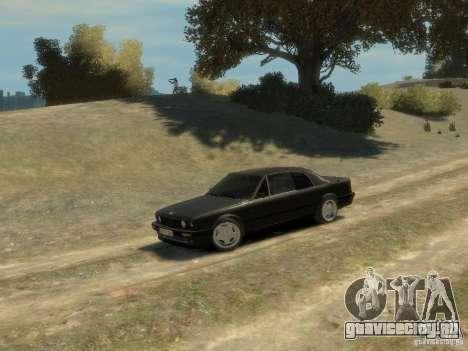BMW 3-er E30 для GTA 4 вид сверху