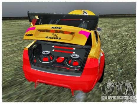 Audi RS4 Calibri-Ace для GTA San Andreas вид сзади