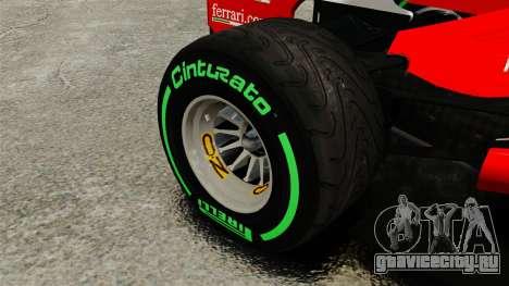 Ferrari F2012 для GTA 4 вид сзади