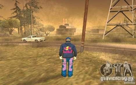 Red Bull Clothes v1.0 для GTA San Andreas четвёртый скриншот