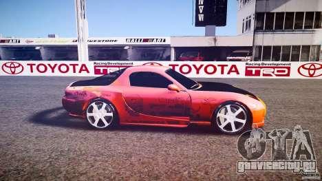 Mazda RX-7 ProStreet Style для GTA 4 вид слева