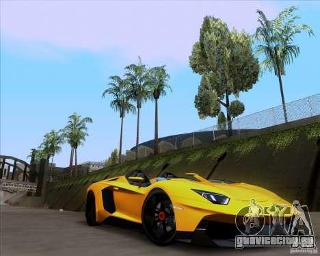 Lamborghini Aventador J TT Black Revel для GTA San Andreas вид справа
