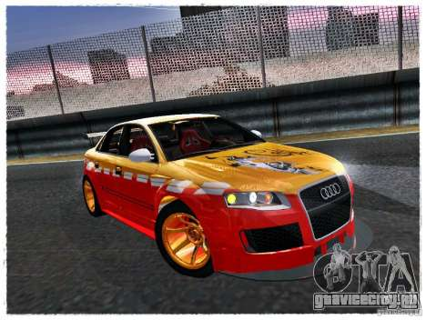 Audi RS4 Calibri-Ace для GTA San Andreas