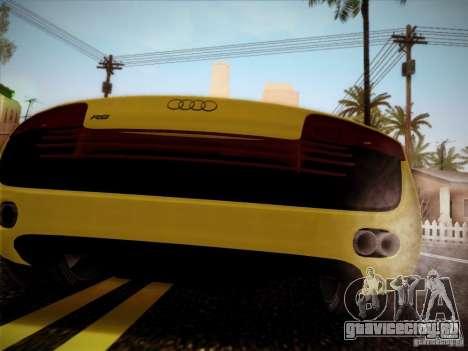 Audi R8 custom для GTA San Andreas вид слева