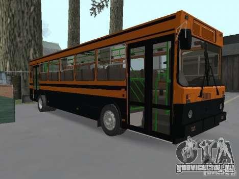 ЛиАЗ 5256.25 для GTA San Andreas вид сзади слева