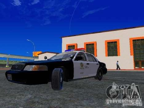 Ford Crown Victoria San Andreas State Patrol для GTA San Andreas вид слева