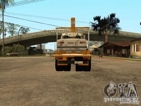 МАЗ 54323 ЭВАКУАТОР для GTA San Andreas вид сзади слева