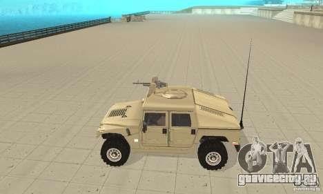 Hummer H1 для GTA San Andreas вид слева