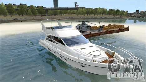 Luxury Yacht для GTA 4 вид изнутри