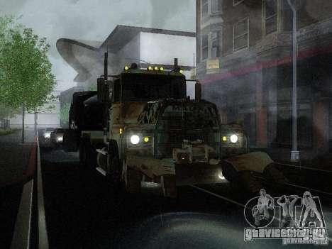 Armored Mack Titan Fuel Truck для GTA San Andreas