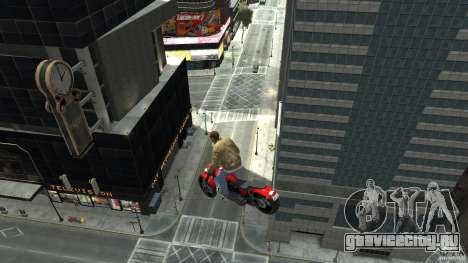 The Lost and Damned Bikes Nightblade для GTA 4 вид справа