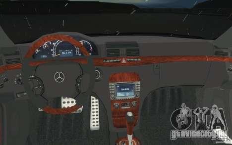 Mercedes-Benz S-Klasse для GTA San Andreas вид сверху