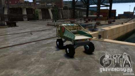УАЗ Прототип Голиаф для GTA 4 вид справа
