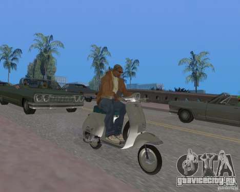 Vespa N-50 для GTA San Andreas вид справа
