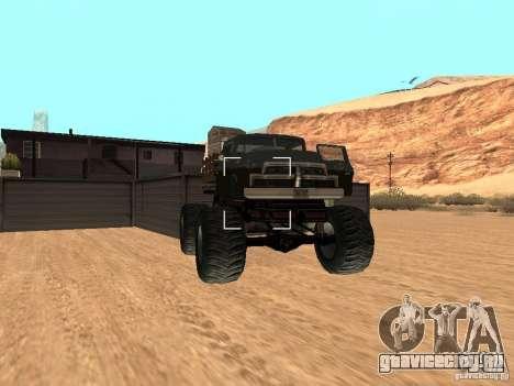 Walton Monster для GTA San Andreas вид справа