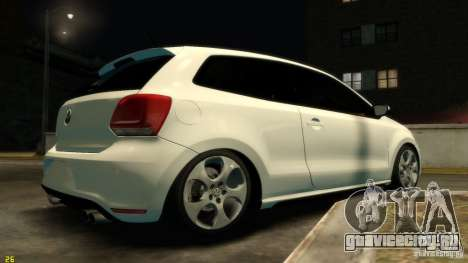 Volkswagen Polo v1.0 для GTA 4 вид справа