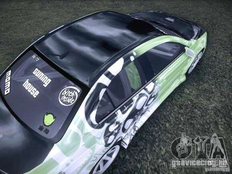 Mitsubishi Lancer Evolution X - Tuning для GTA San Andreas вид сбоку