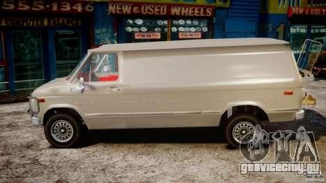 Chevrolet G20 Vans V1.1 для GTA 4 вид слева