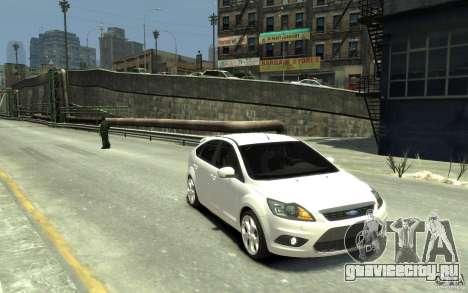 Ford Focus 2009 для GTA 4 вид сзади