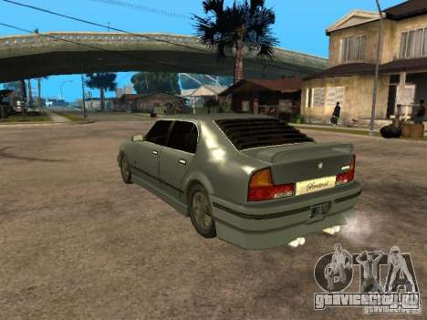 HD Mafia Sentinel для GTA San Andreas вид слева
