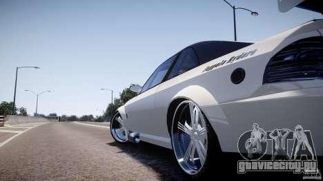 Sultan RS 3.0 для GTA 4 вид сзади слева