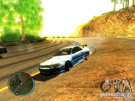 Nissan Skyline B324R для GTA San Andreas