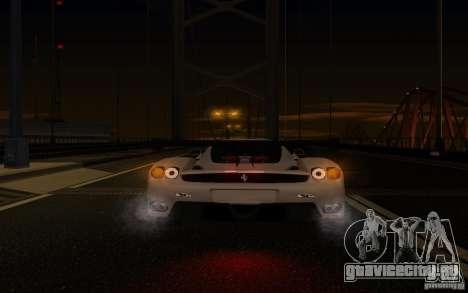 Ferrari Enzo ImVehFt для GTA San Andreas вид сверху