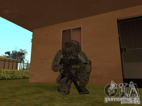 M4A1 c ACOG из CoD MW3 для GTA San Andreas второй скриншот