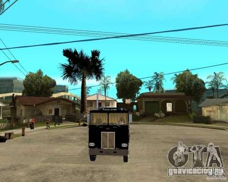 Peterbilt для GTA San Andreas вид сзади