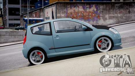 Citroen C2 Light Tuning [Beta] для GTA 4 вид слева