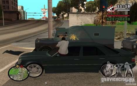 Стрелять из машины как в ГТА 4 для GTA San Andreas