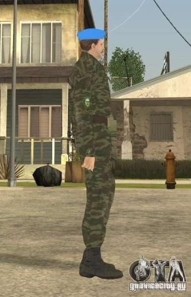 ВДВшник для GTA San Andreas второй скриншот