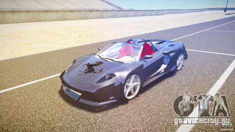 Ferrari F430 Extreme Tuning для GTA 4 вид слева
