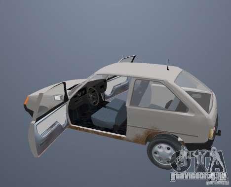 ЗАЗ 1102 Таврия для GTA San Andreas вид сверху
