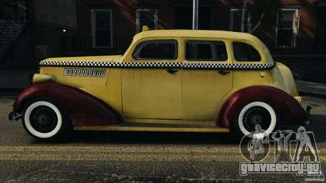 Shubert Taxi для GTA 4 вид слева