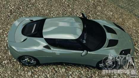 Lotus Evora 2009 v1.0 для GTA 4 вид справа