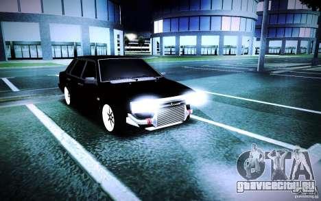 ВАЗ 21099 Turbo для GTA San Andreas вид справа