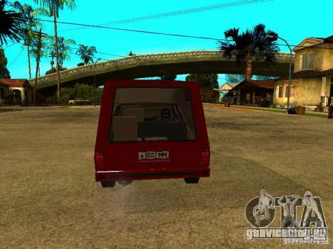 АЗЛК 2901 для GTA San Andreas вид справа