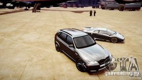 BMW X5M 2011 для GTA 4 вид сбоку