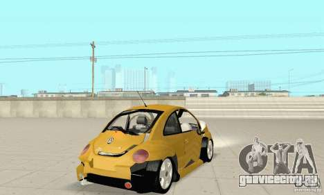 Volkswagen New Beetle GTi 1.8 Turbo для GTA San Andreas