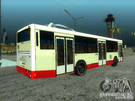 НефАЗ 5299 10-32 для GTA San Andreas вид слева