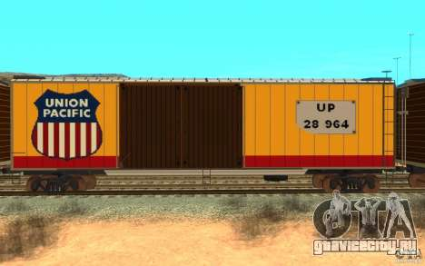 Union Pacific Reefer для GTA San Andreas вид сзади слева